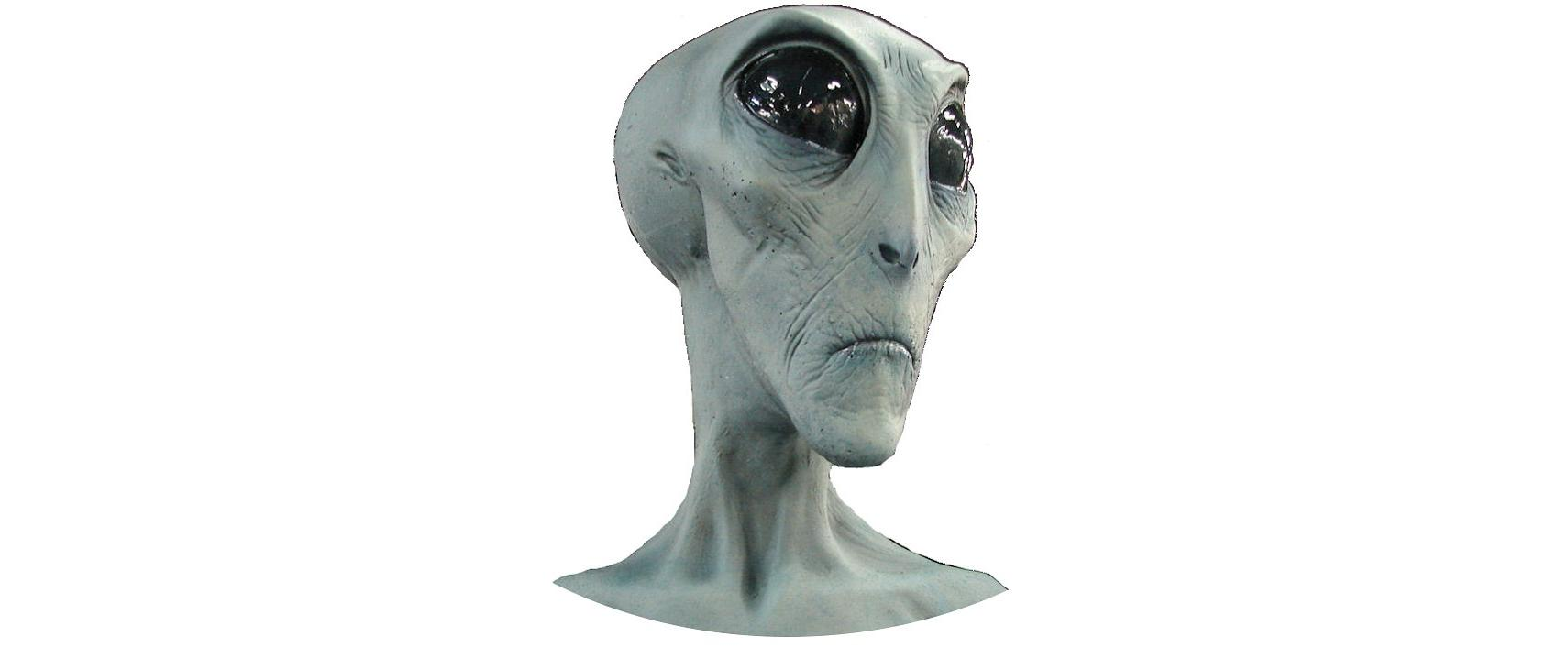 100% real space alien from Roswell International UFO Museum & Research Center